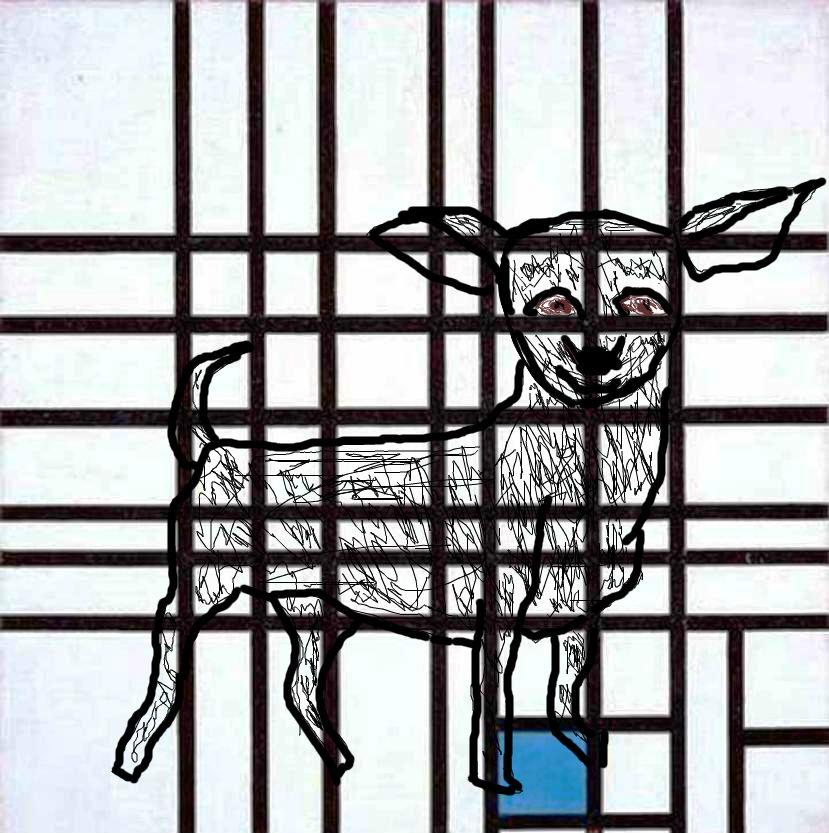 Piet-Mondrian-Composition