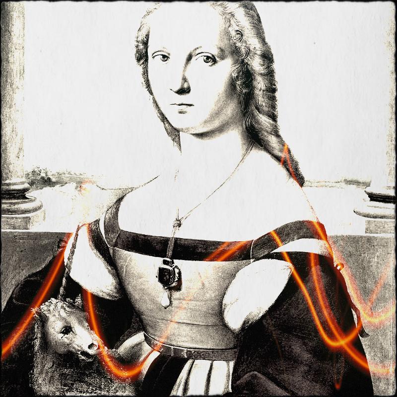 dama del liocorno